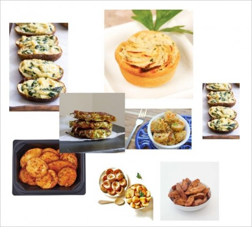The comfort of eating some potato dishes for your meals. Enjoy them especially in winter time.