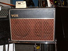 The VOX AC30 Twin--one of the most-popular VOX amps.