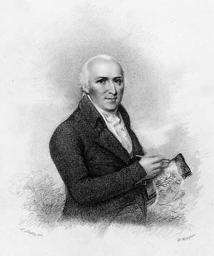 A portrait of Humphry Repton, 1802