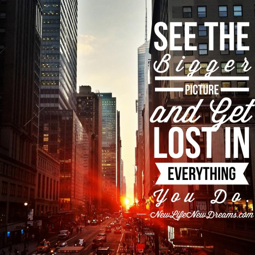 A perfect quote for getting lost in the blog