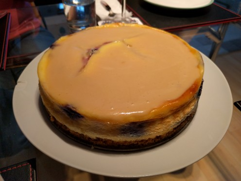 Canadian Blueberry Cheesecake