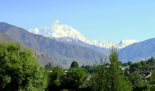 Mount Tirichmir in the Hindu Kush is the range's tallest mountain and is located in Chitral District.