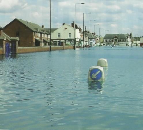 2007 Floods in Doncaster, South Yorkshire, UK