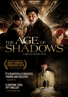 "Rotten Tomatoes: 100% ""The Age of Shadows justifies its imposing length with a richly detailed period drama whose sprawling size is matched by strong acting, impressive craft, and narrative depth."""