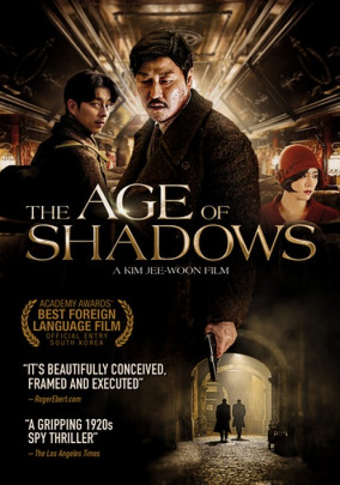 """Rotten Tomatoes: 100% """"The Age of Shadows justifies its imposing length with a richly detailed period drama whose sprawling size is matched by strong acting, impressive craft, and narrative depth."""""""