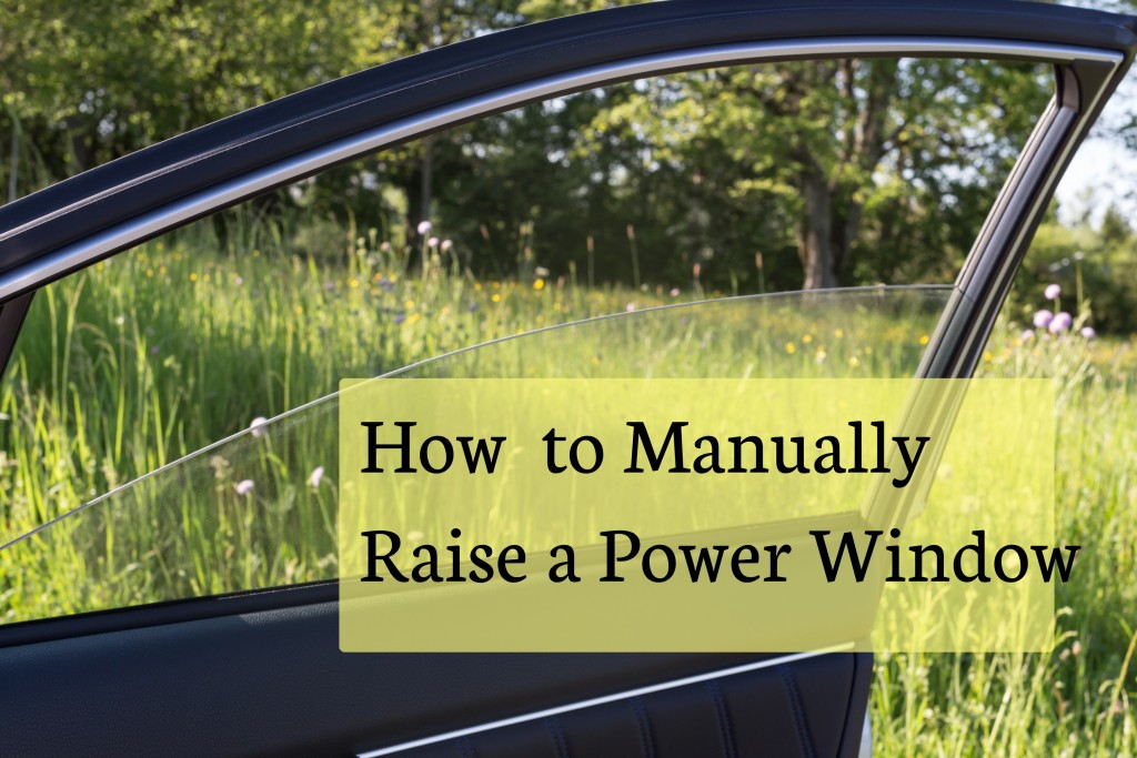 How To Raise A Window Manually