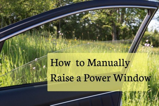 Instructions For How To Open Or Close The Window On Your Car Manually