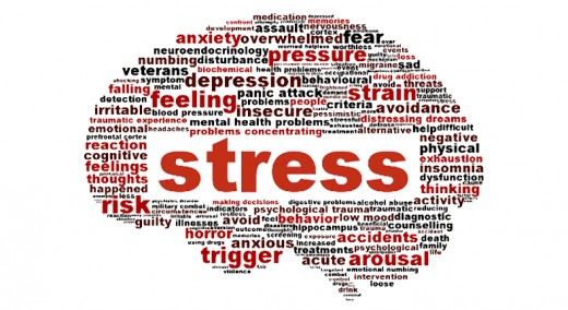 What can cause stress