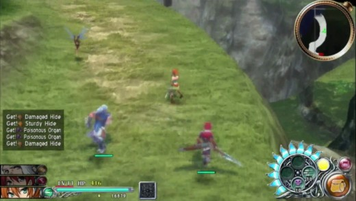 The classic Ys IV group, all playable.