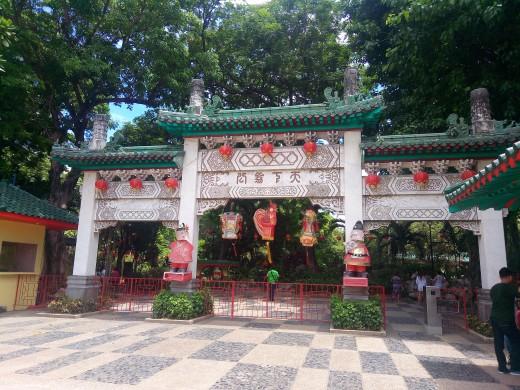 Chinese Garden - Entrance Fee: 10 pesos