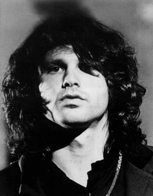 Icon Jim Morrison....shown in 1969 as he led the Doors to rock immortality.