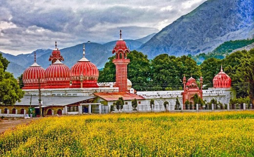 Shahi Mosque in Chitral.