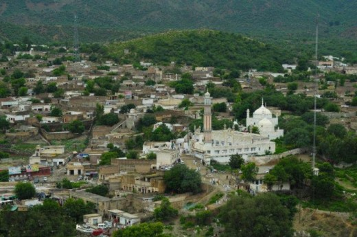 Nowshera is known for the shrine of Sufi (Mystic saint) Kaka Sahib.
