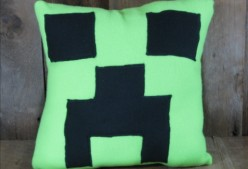 How To Make A Creeper Pillow