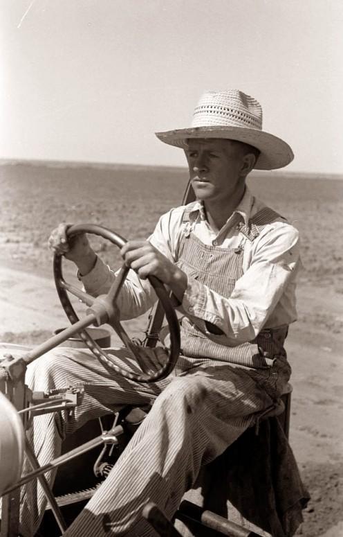 A vintage American farmer.
