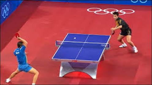 The people of China have long been fascinated by Table Tennis and they are usually quite good at the sport.