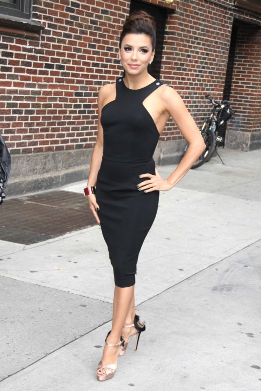 Eva Longoria Wearing the LBD