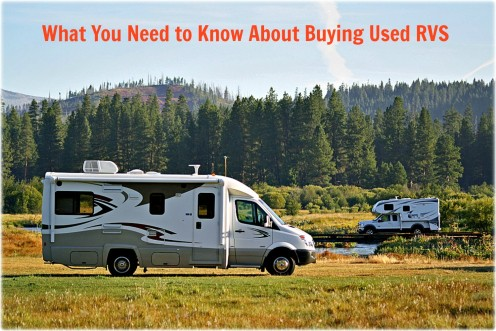 There is a lot to learn about buying previously owned recreational vehicles.