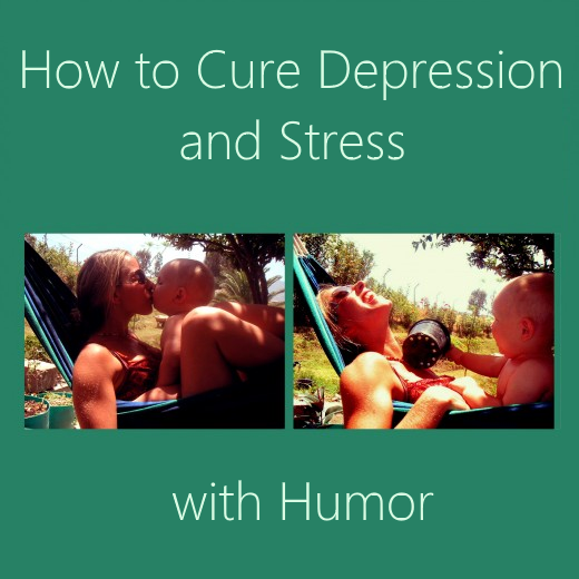 Cure stress and depression with humor. Fun and laughter are the best stress relief factors.