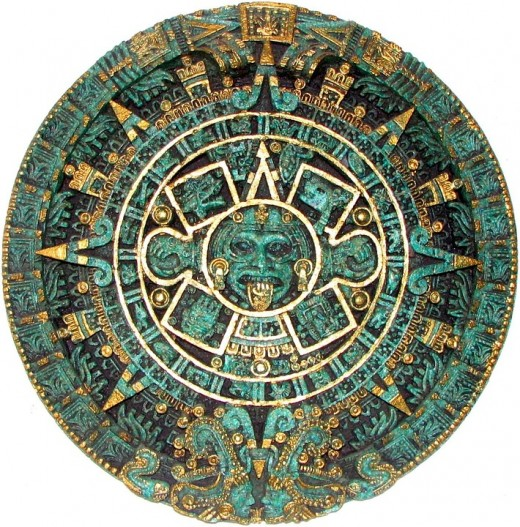 Aztec Calendar. Our modern tabular calendar came from the Romans
