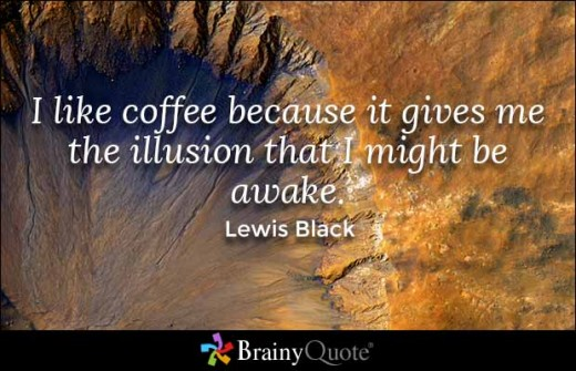 Quote about Coffee