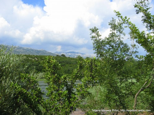 View on mountain Velebit - river Zrmanja, photo by Tatjana-Mihaela