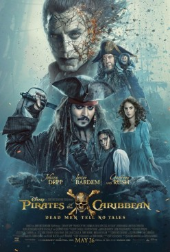 "Movie Review: ""Pirates of the Caribbean: Dead Men Tell No Tales"""
