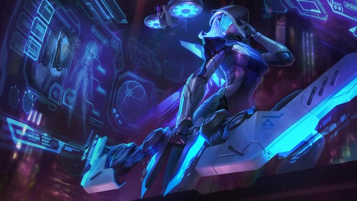 PROJECT: Ashe splash art