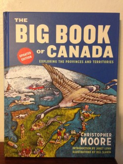 Christopher Moore's Big Book of Canada Celebrates Canada's 150th Birthday with Beautiful Photos and Fun Facts