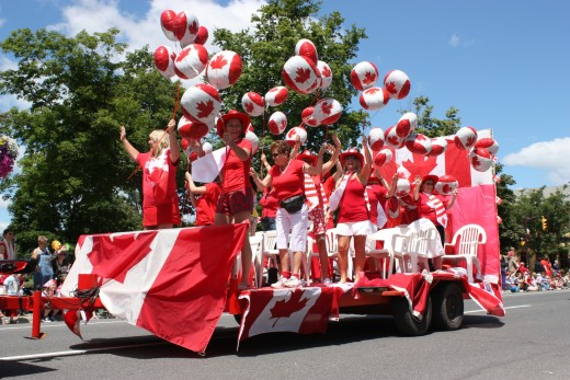 Canada Day Parade Picture
