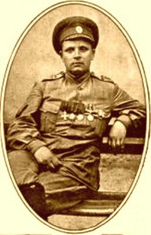 WW1: Maria Leontievna Bochkareva (Yashka), earlier in the war.