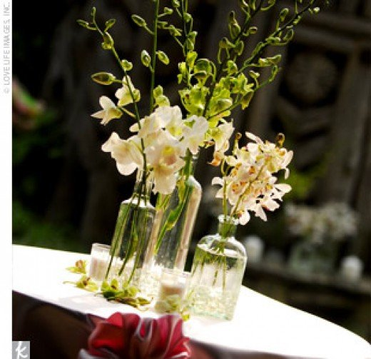 25th Wedding Anniversary Decoration Ideas: Bichelle's Blog: Outdoor Wedding Flower Ideas Rustic