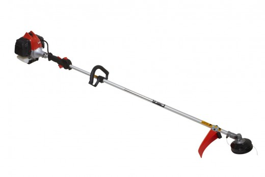 The Tanaka TCG27EBSP 2-Cycle Gas String Trimmer offers power, control and excellent durability.  Comfortable to use, the Tanaka has padded front and rear handles for extended use in the yard.