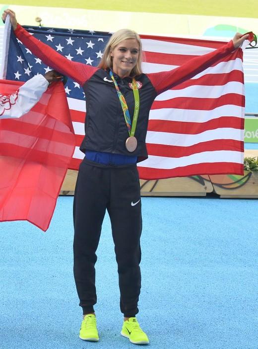 Emma Coburn Wins Olympic Bronze!