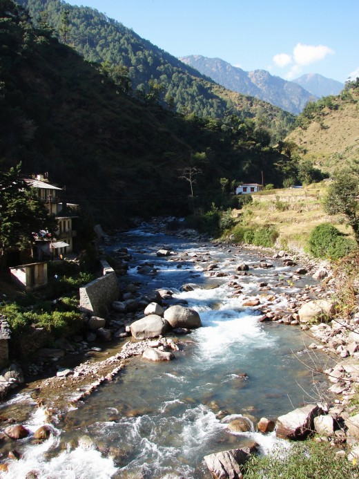 Himalayan splendor 3 : the river Mandakini