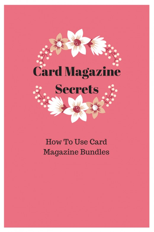 Card magazine bundle ideas and tips