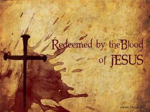 Redeemed and Bought By Christ Jesus Blood Shed!!