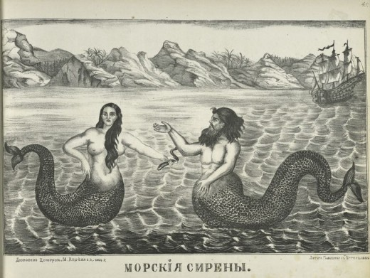 Mer-people might be guardians of the oceans, lakes, and rivers.