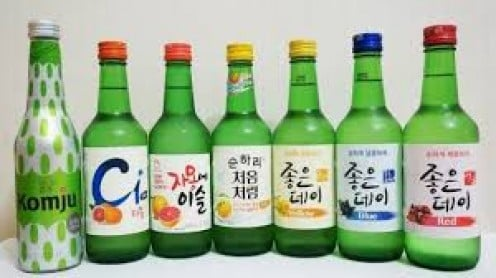 South Korea can buy liquor anytime, day or night, and they do just that!