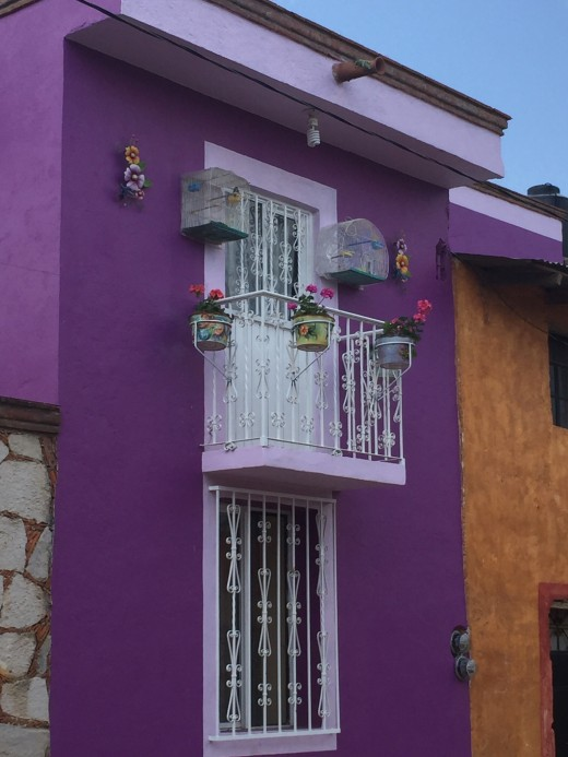 Colorful Homes In Guanajuato