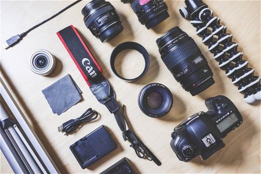 DSLR camera kit, photograpy equipment for rent