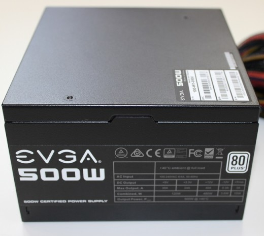 EVGA's 500 W1 is probably the most popular power supply on the market. It's efficiency, capacity, quality, and price are hard to beat.