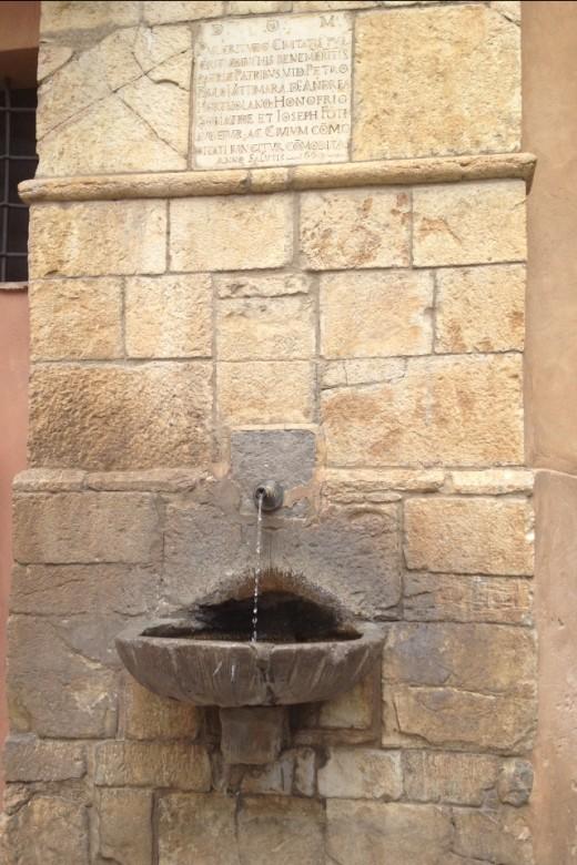 Medieval Fountain, Castelbuono