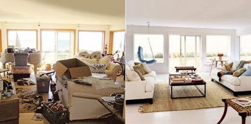 What a difference house tidy-up makes to your home!!!