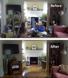 A straightened out living room is a crucial outcome of house tidy-up exercise.