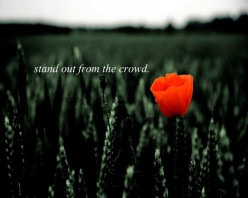 Stuck in the Crowd:  A Poem