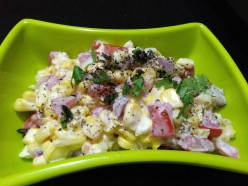 How to Make Corn Yogurt Salad