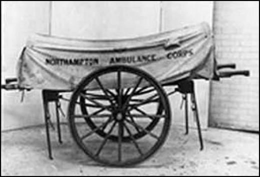 Circa 1887 Transport Litter - Ambulance