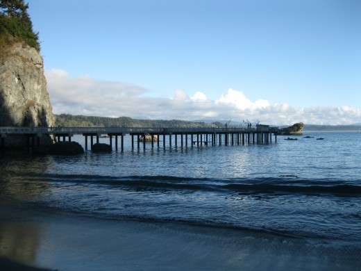 The new Trinidad pier.
