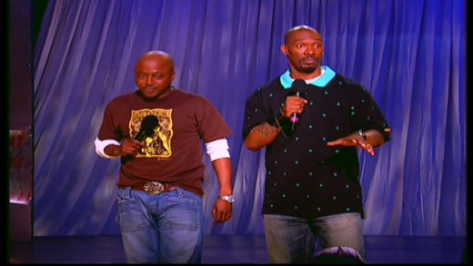 Donnell Rawlings and Charlie Murphy host the third season of Chappelle's Show. Image copyright of Comedy Partners.